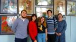 Студенты 3-го курса посетили выставку детского творчества