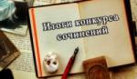 Итоги регионального конкурса сочинений «Профессия моей мечты»